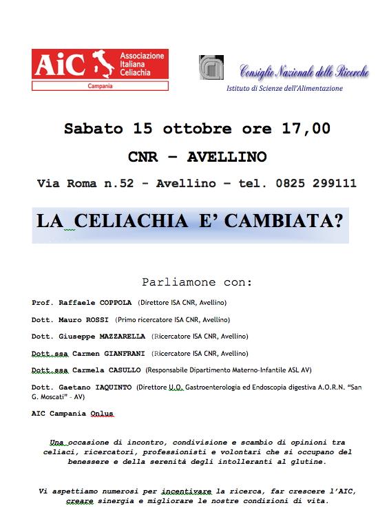 LA CELIACHIA E' CAMBIATA